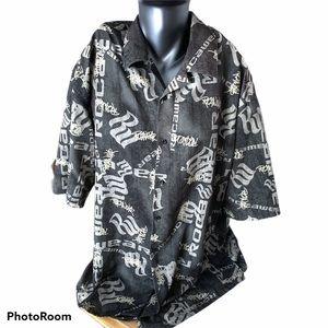 Rockawear men's XXL button up shirt.